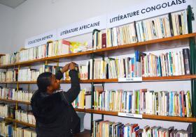 Bibliothèqe Wallonie-Bruxelles à Kinshasa