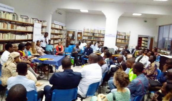 Fête du Livre de Kinshasa à la Bibliothèque Wallonie-Bruxelles