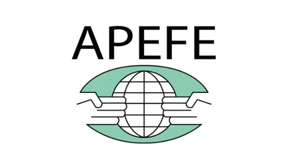 """Logo """"APEFE - Association pour la Promotion de l'Education et de la Formation à l'Etranger"""""""